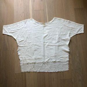 Gillia Issa Kaftan in White